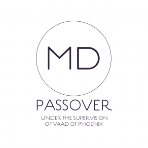 MD Passover. Under the supervision of Phoenix Vaad